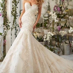 Mori Lee Wedding Dress 2801
